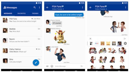 ps messages app