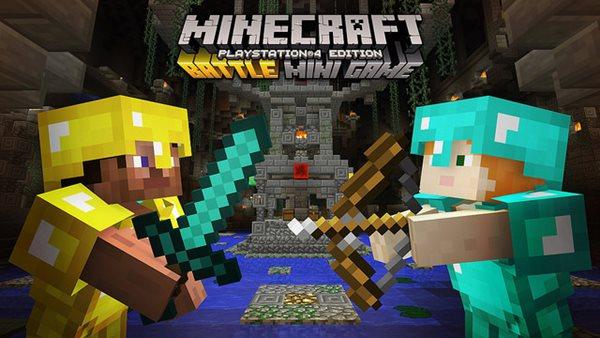 Minecraft Battle Minigame 1