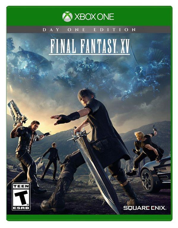 Final Fantasy XV XB1 packshot