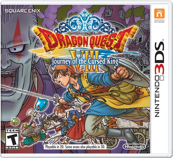 Dragon Quest VIII for 3DS Launches January 20 in North America