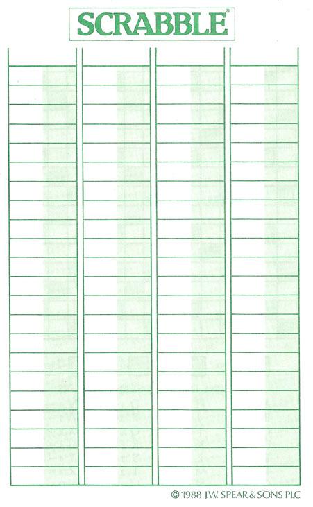 Scrabble Score Sheet   cvfree.pro