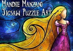 Mandy Manzano Jigsaw Puzzle Art Logo Gaming Cypher