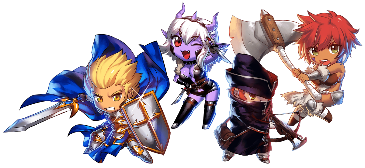 Super Dungeon Tactics Reveals Four More Heroes