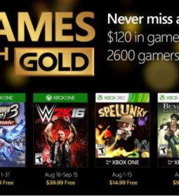 Xbox Live Games with Gold August 2016 Gaming Cypher 3