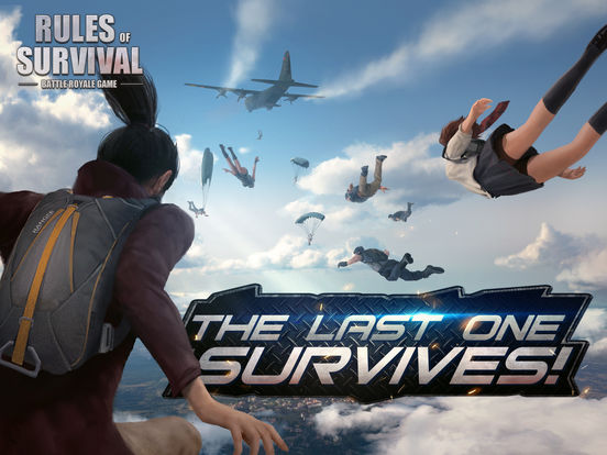 Pubg Parachute Wallpaper Rules Of Survival Review For Android Gaming Cypher