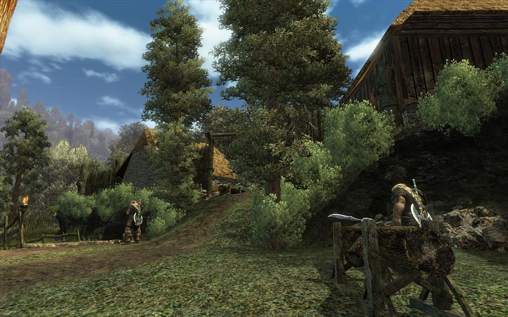 Oblivion Wallpaper Hd Gothic 3 Screenshots Preview Gaming Nexus