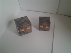 2 magma cube papercraft models
