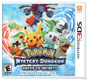 Box Art for Pokemon Mystery Dungeon - Gates to Infinity for 3DS