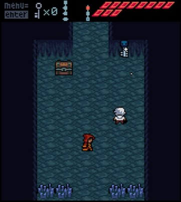 Anodyne: collecting keys