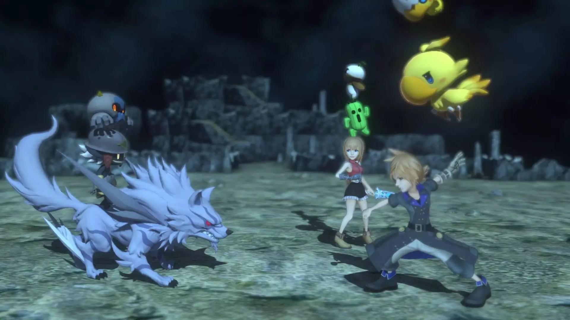 So Cute Name Wallpaper World Of Final Fantasy Si Mostra In Un Nuovo Video