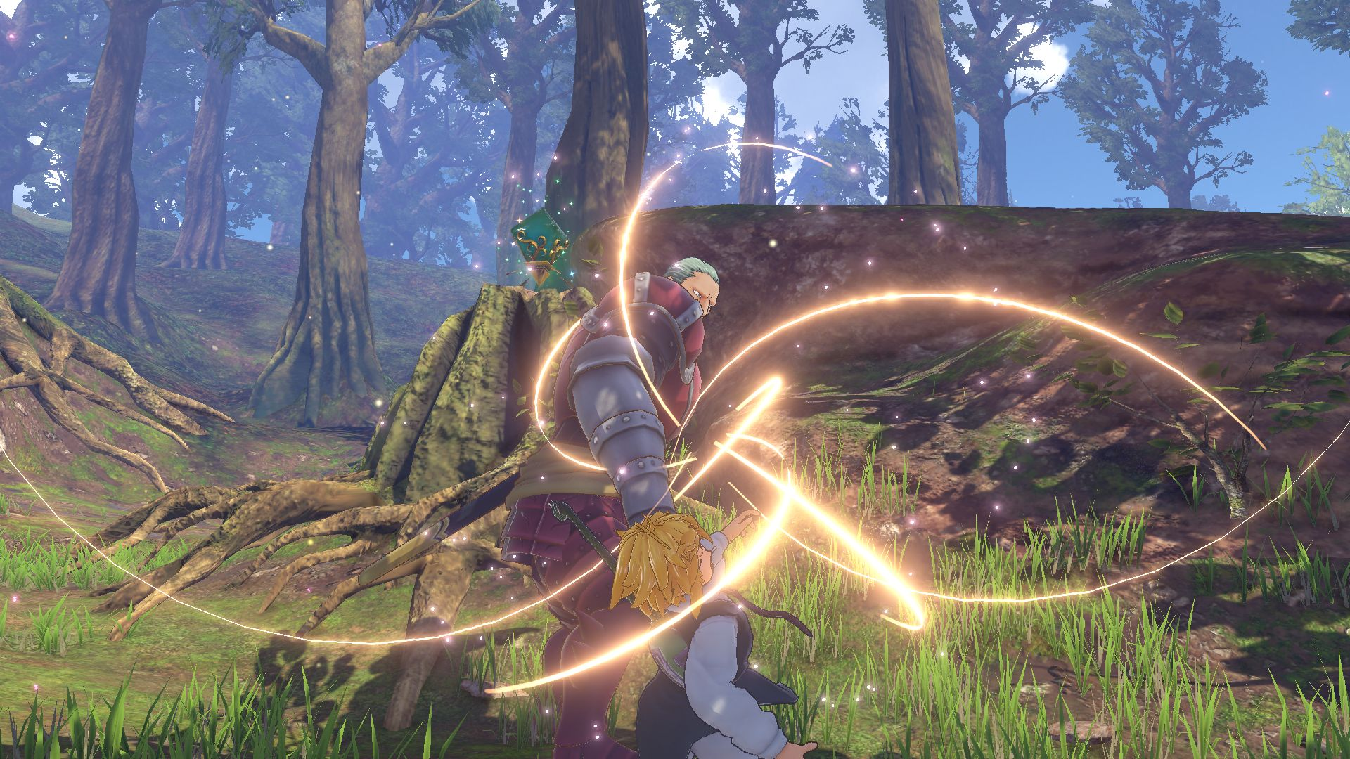3d Wallpapers Of God And Goddess The Seven Deadly Sins Knights Of Britannia Coming To Ps4