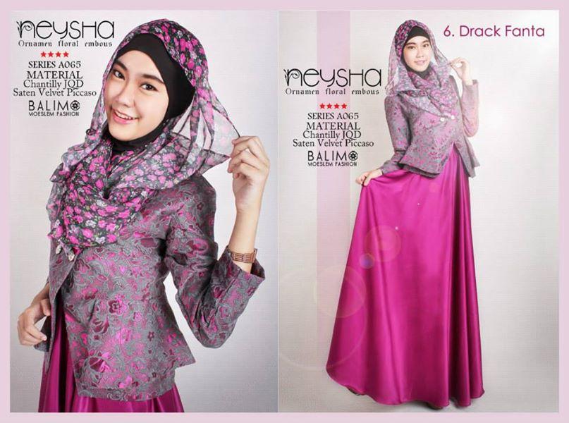 Pusat grosir baju muslim Suplier baju gamis remaja harga pabrik bandung