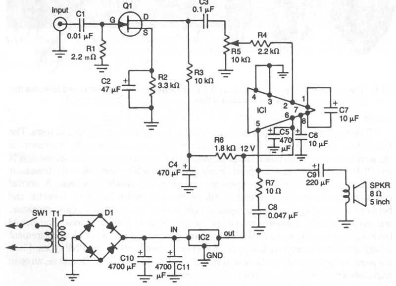 function generator circuit diagram parts list