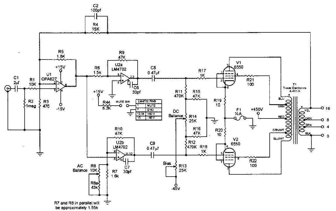 stage 25 amp schematics