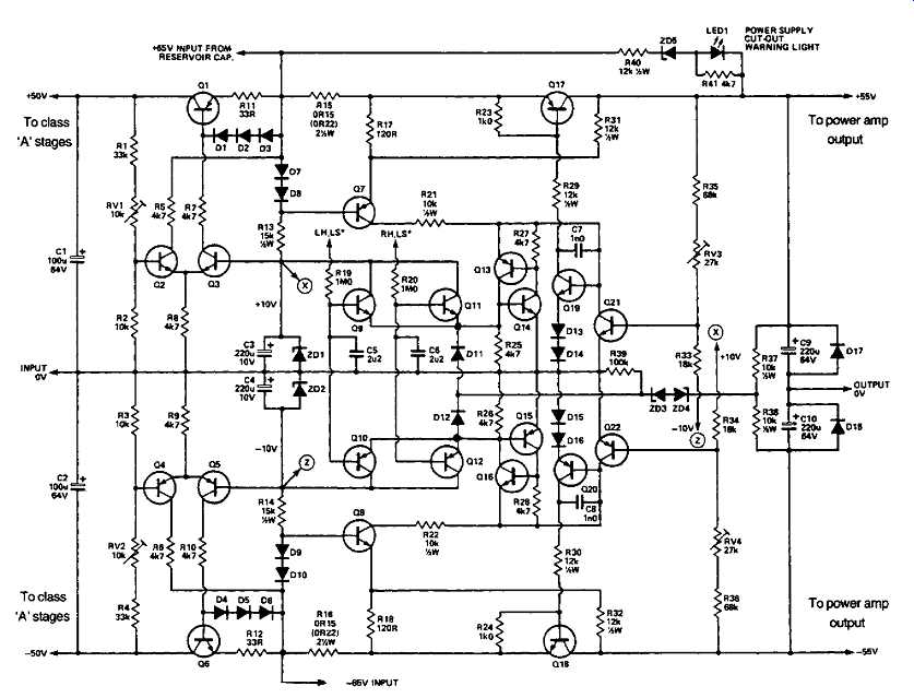 dual output stabilized power supply