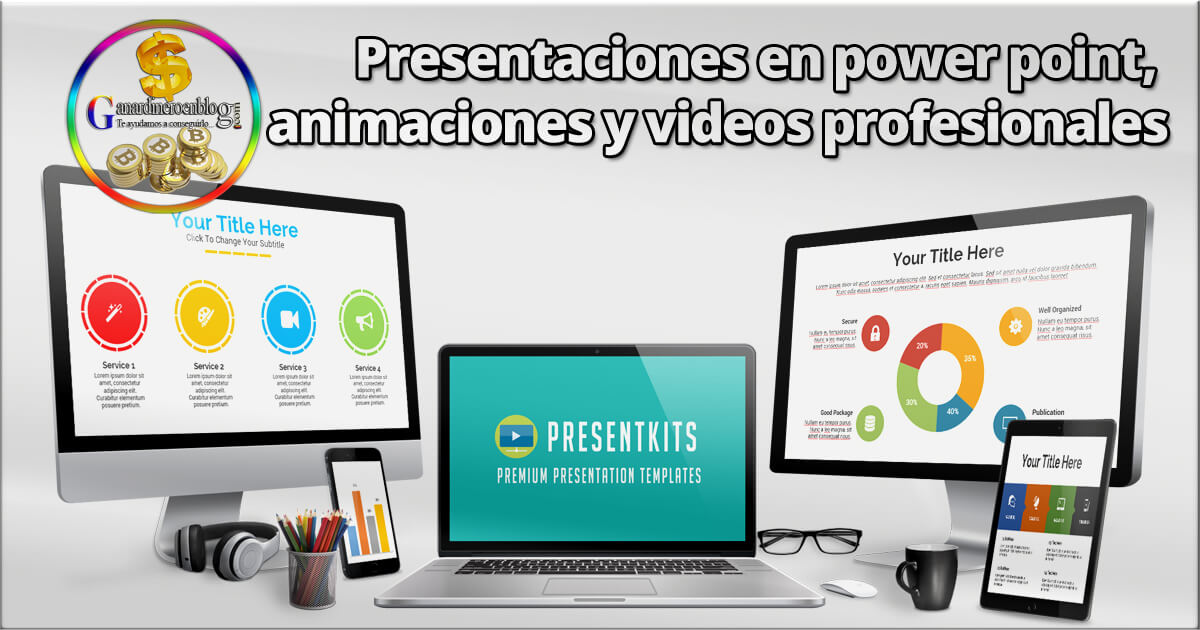Presentaciones en power point, animaciones y videos profesionales