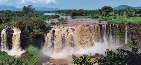 Blue Nile Falls Wallpaper Bahir Dar Lake Tana