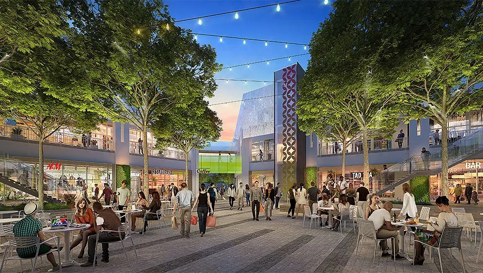 First Look Aging Arizona Center S Planned 25m Makeover In Downtown Phoenix