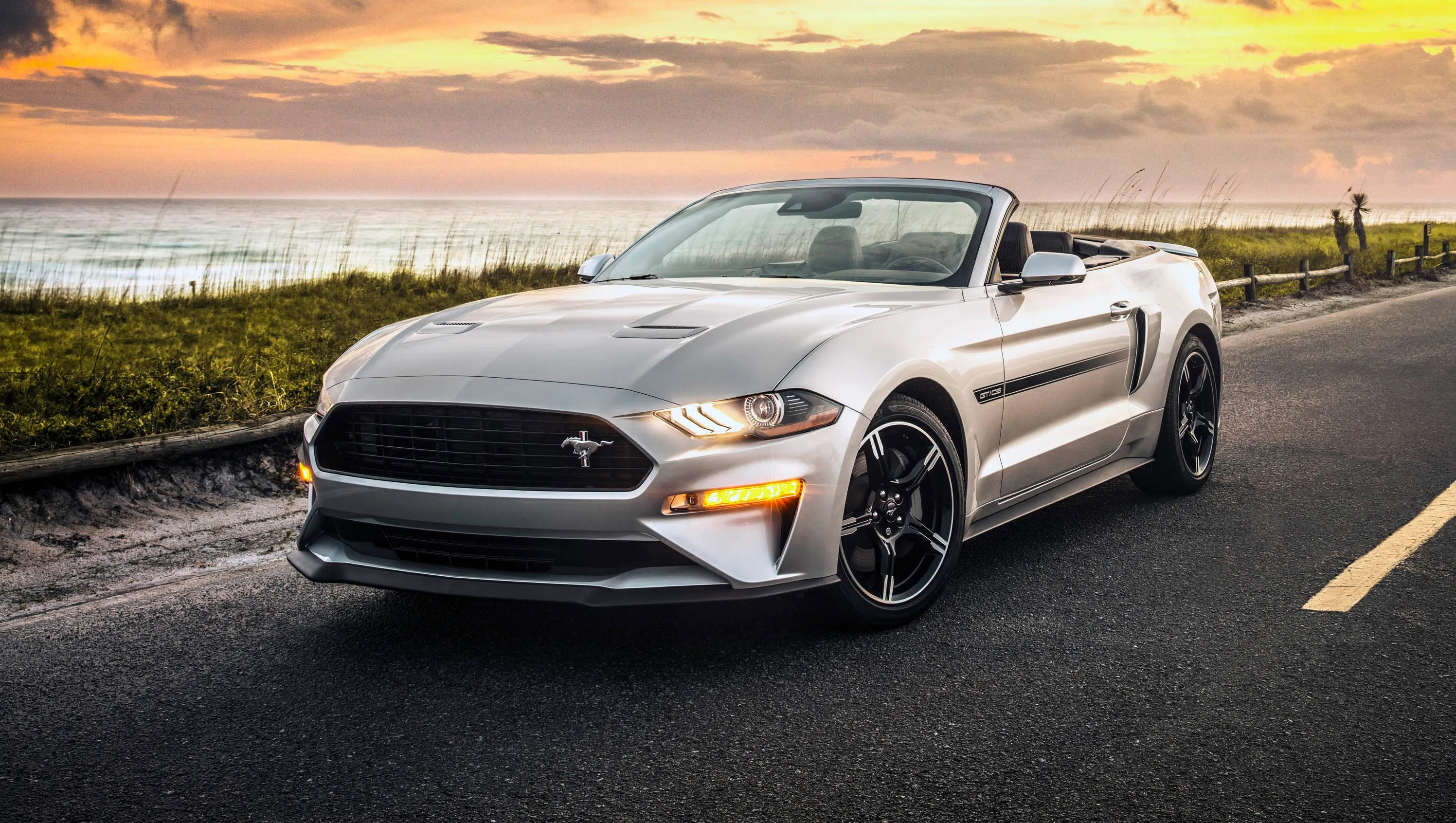 4k Wallpaper Muscle Car 2019 Ford Mustang Gt California Special Adds Muscle To Lineup