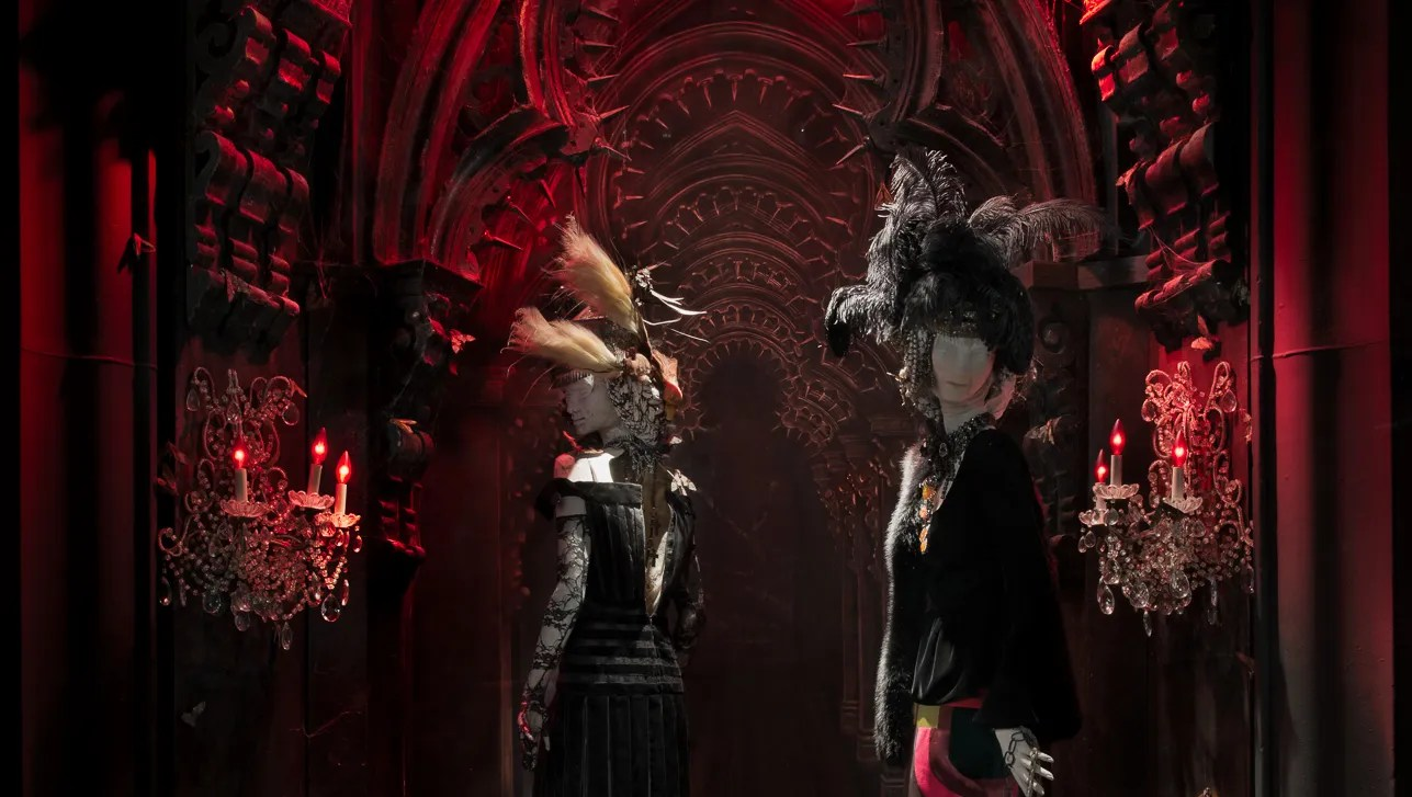Crimson Peak Style Is Trendy Enough For Bergdorf S
