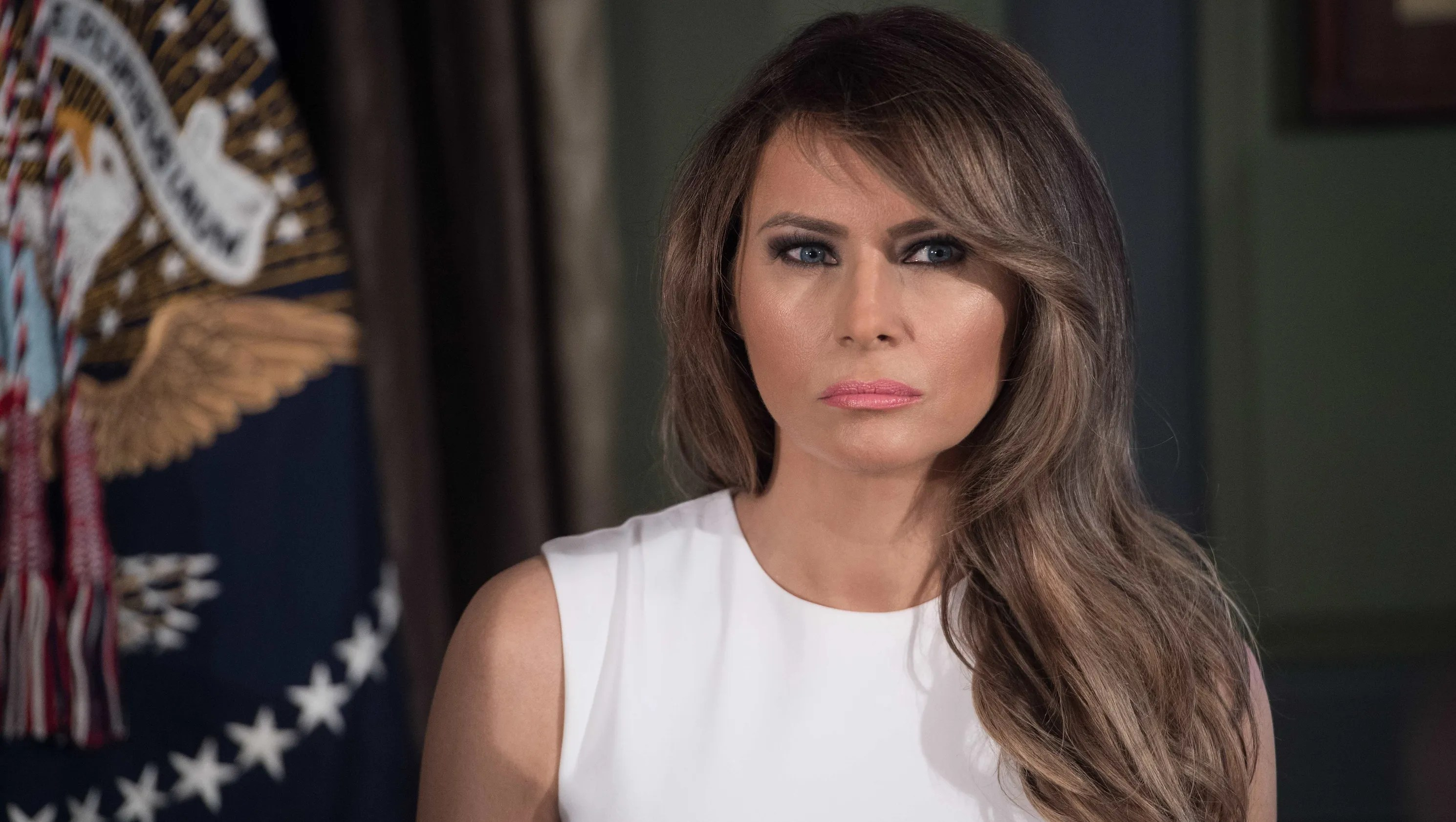 Smart College Girl Wallpaper First Lady Melania Trump Style Diary
