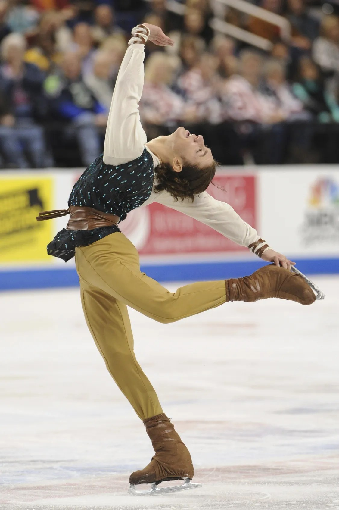 Jason Brown Wins First US Title, Holding Off Adam Rippon - jason rippon