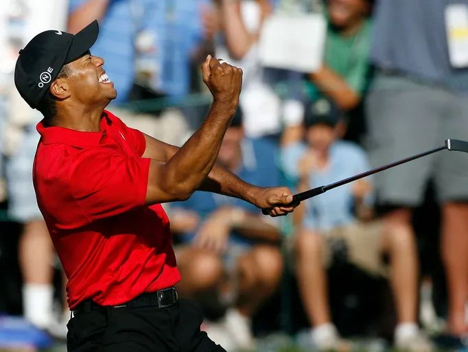 is tiger woods playing at the us open today