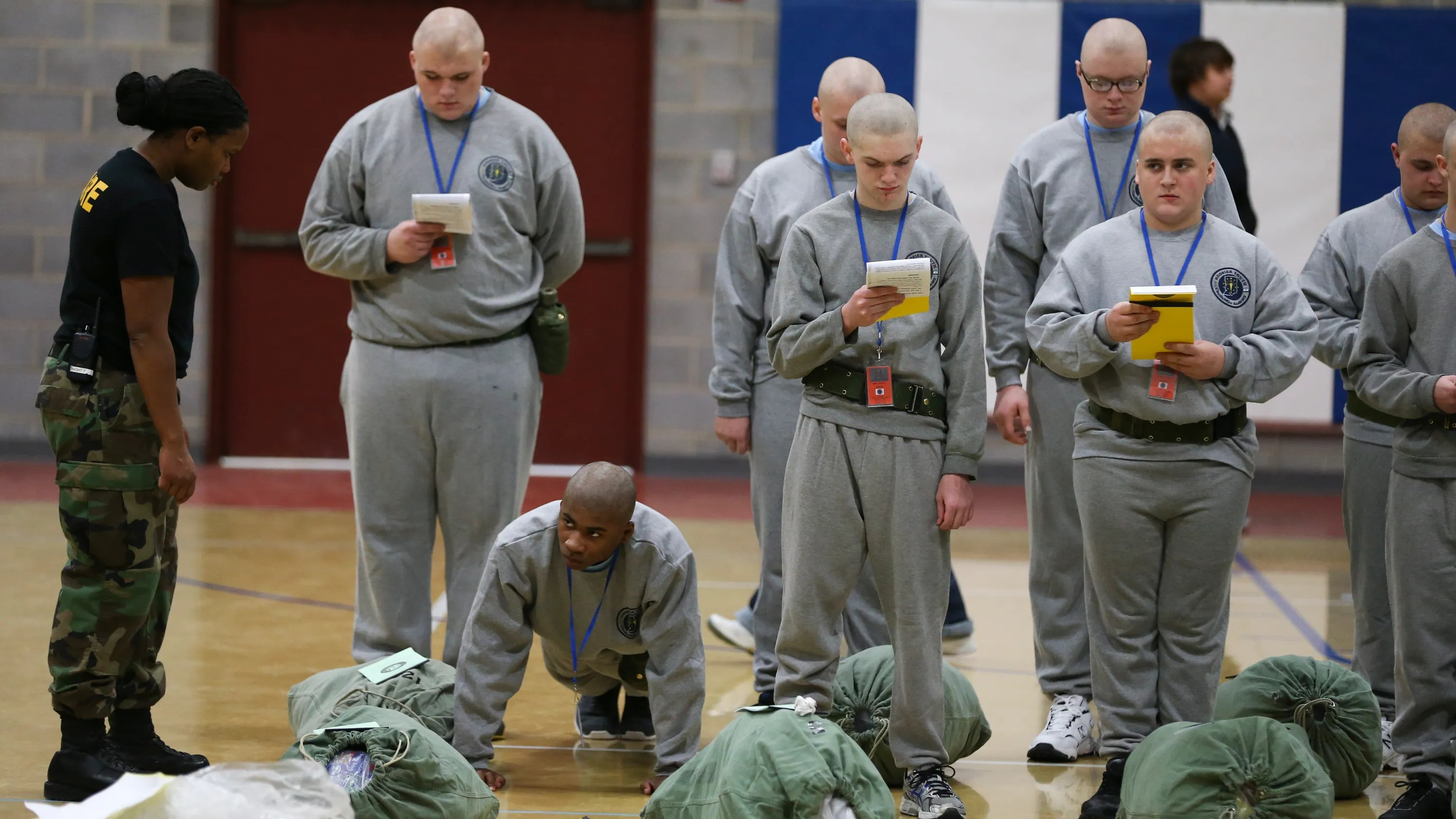 In Your Face Indiana Boot Camp Gets Teens Out Of Trouble