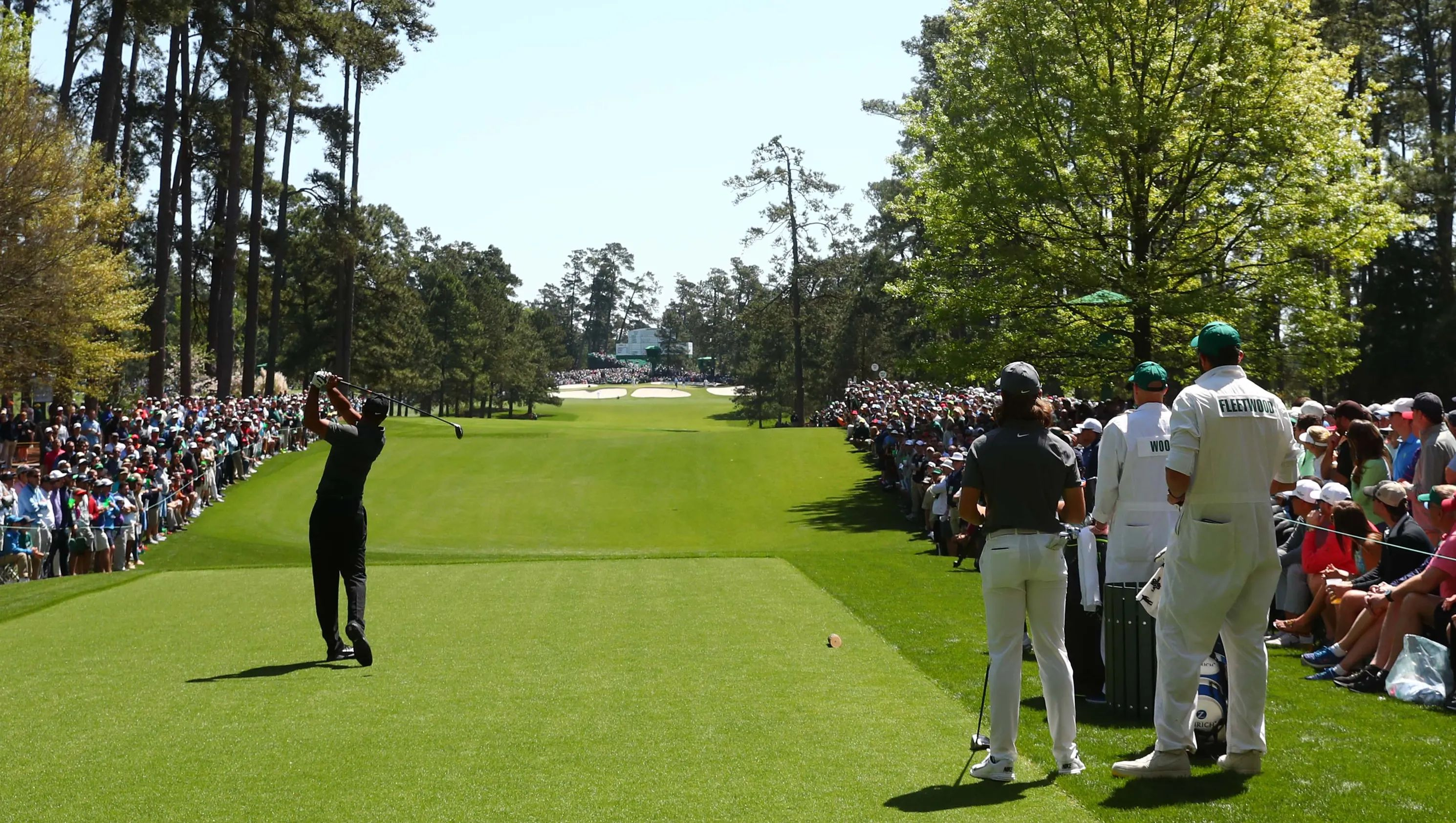 tiger woods tracker masters