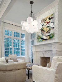High ceilings give a small room possibilities