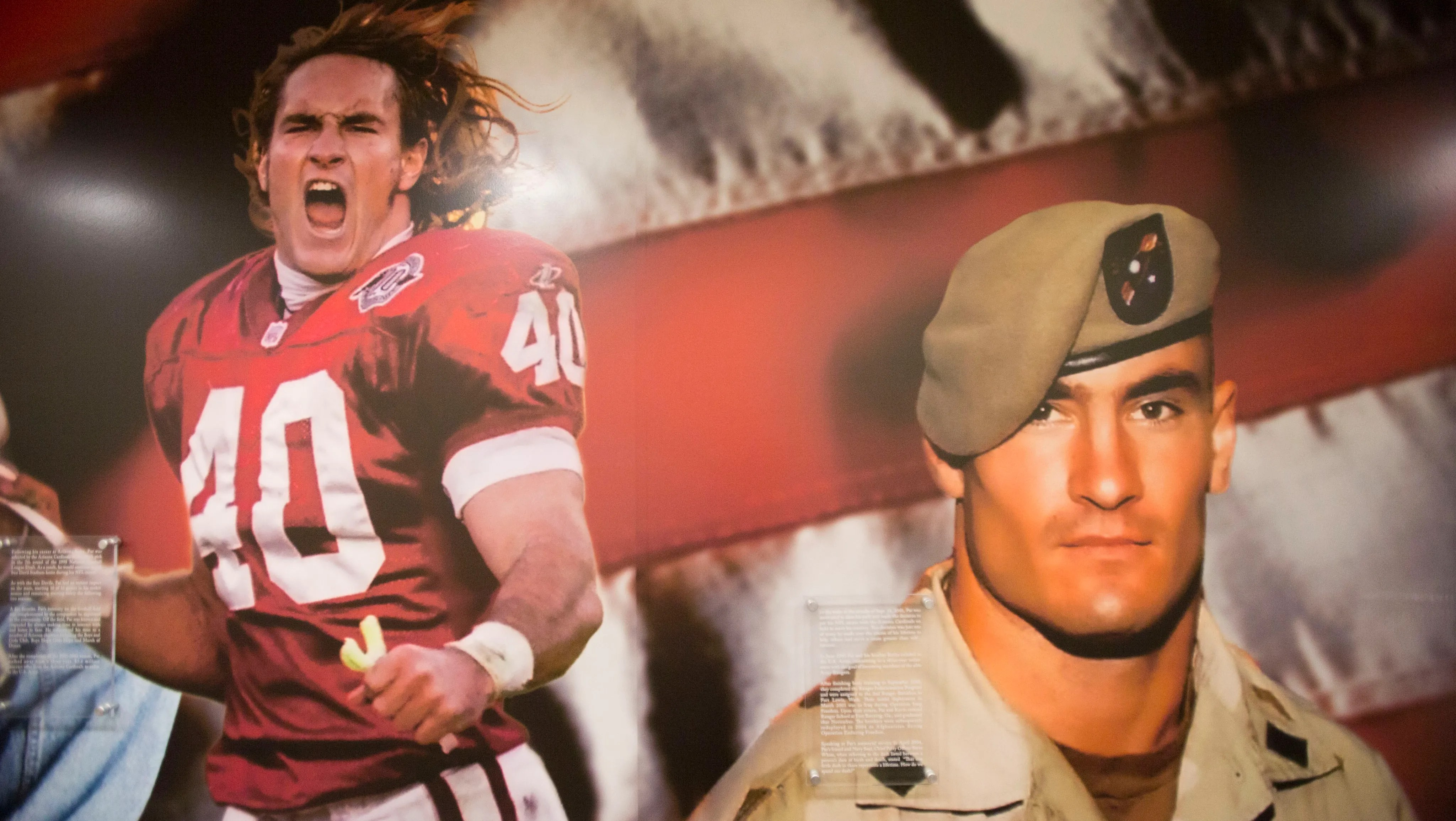 49ers Auto Electrical Wiring Diagram Audio Alpine Car Xqd000340pyu Pat Tillman Becomes Focus Of Social Media Outrage Over
