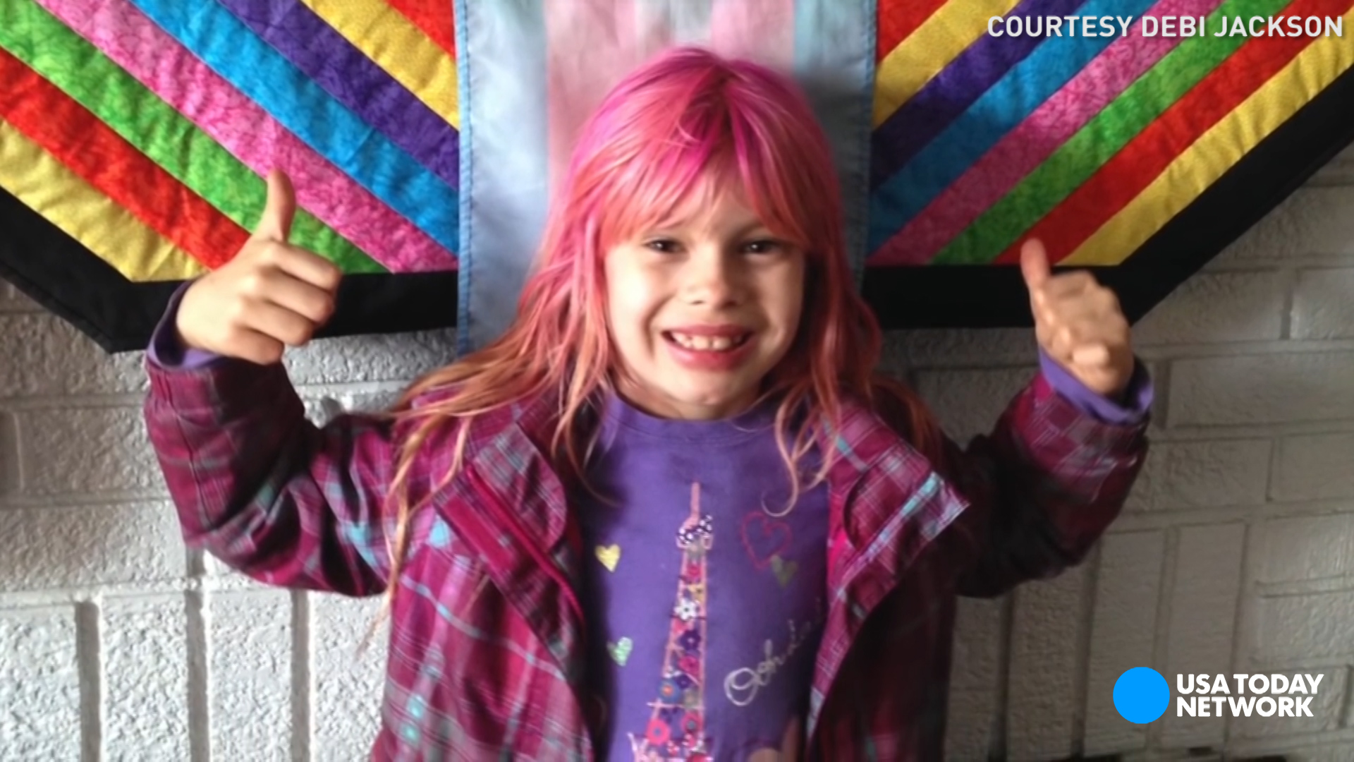 Cute Pink Nation Wallpaper Trans Girl 9 Makes History On National Geographic Cover