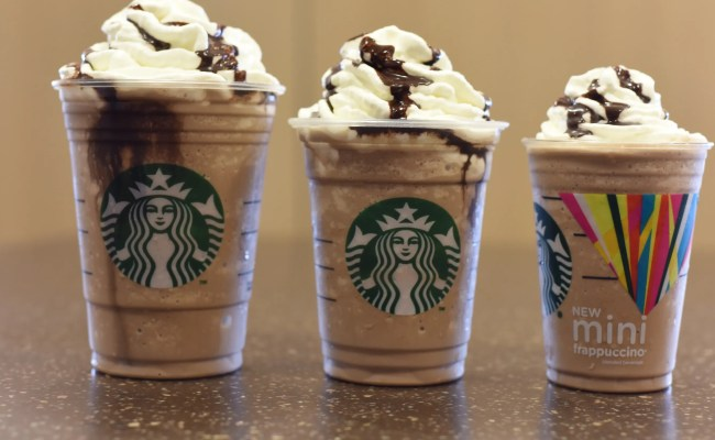 Starbucks Rolls Out Mini Frappuccino