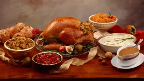 Medium Of Prepared Thanksgiving Dinners