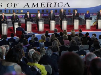 Republican Candidates During A Debate In September EPA Photo