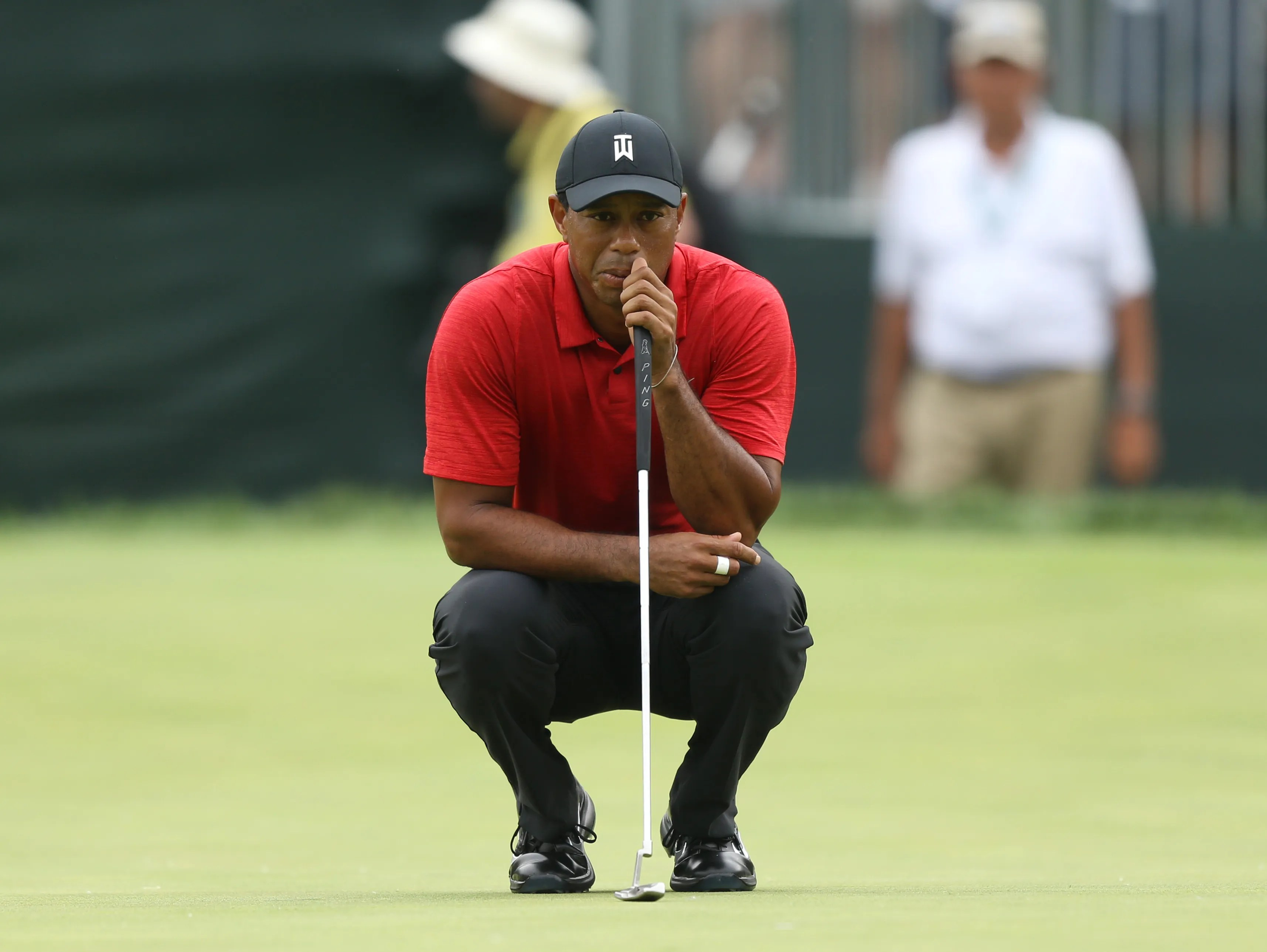tiger woods today's tournament