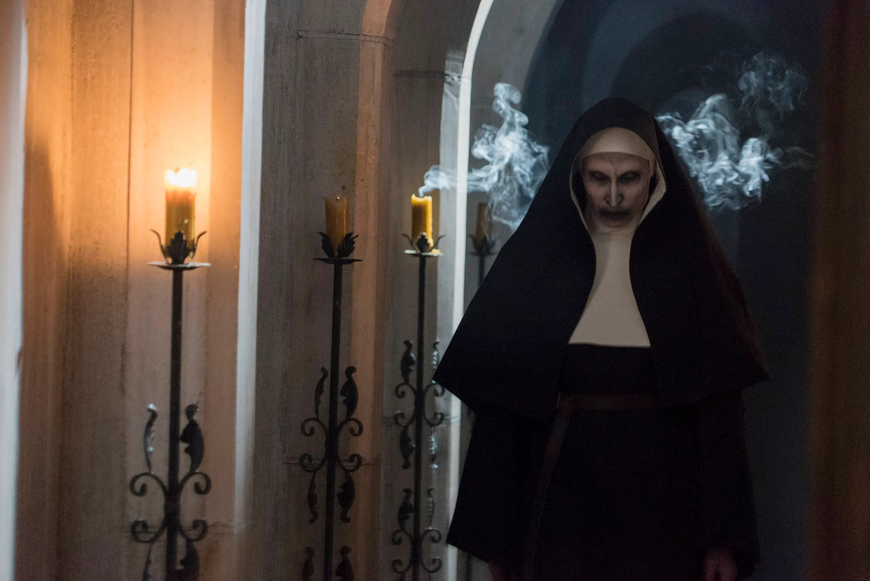 Candle Wallpaper Hd The Nun Is The Newest Haunt For Conjuring Horror Fans