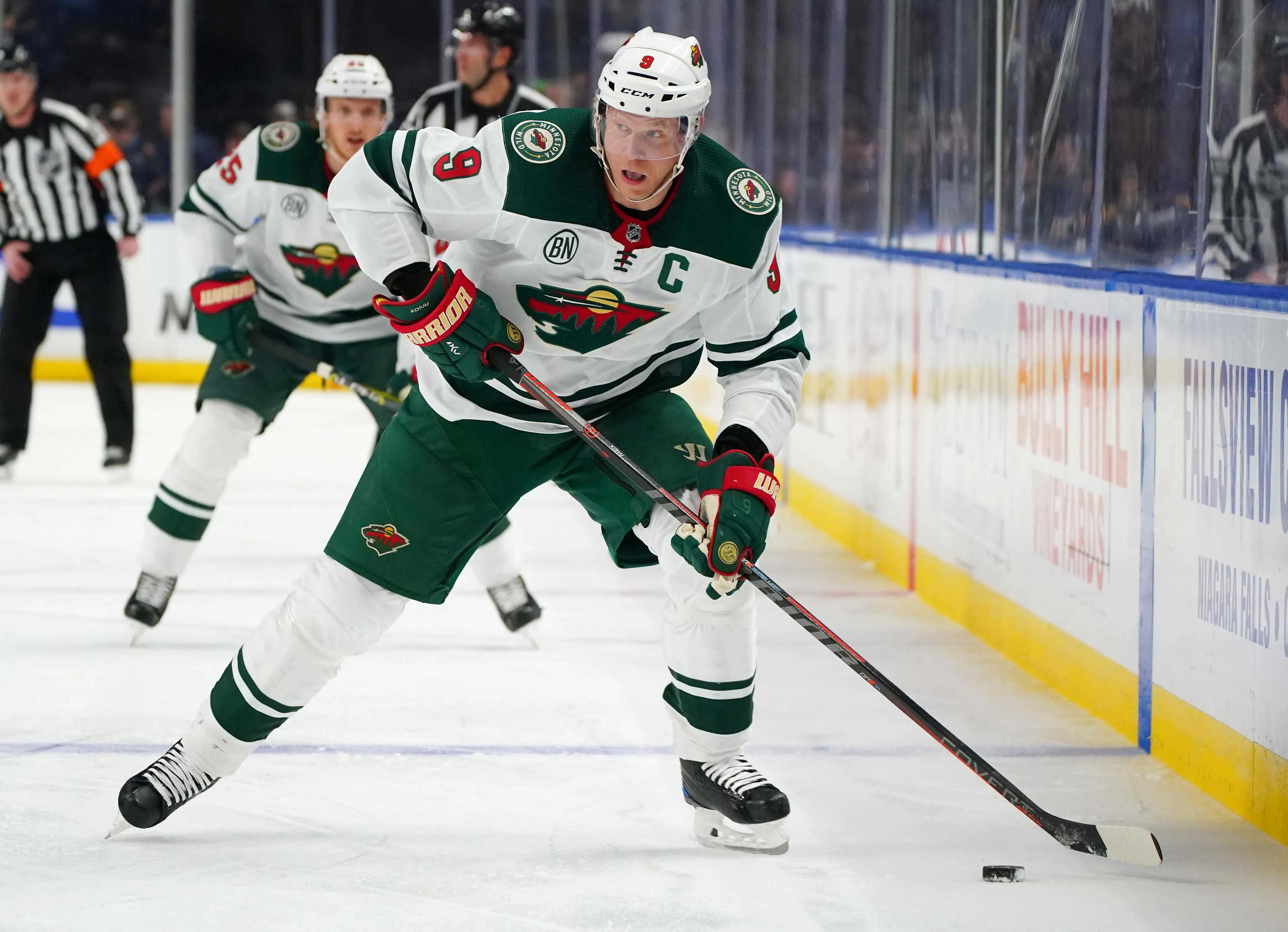 Mikko Koivu Wild Captain Out For Rest Of Nhl Season With