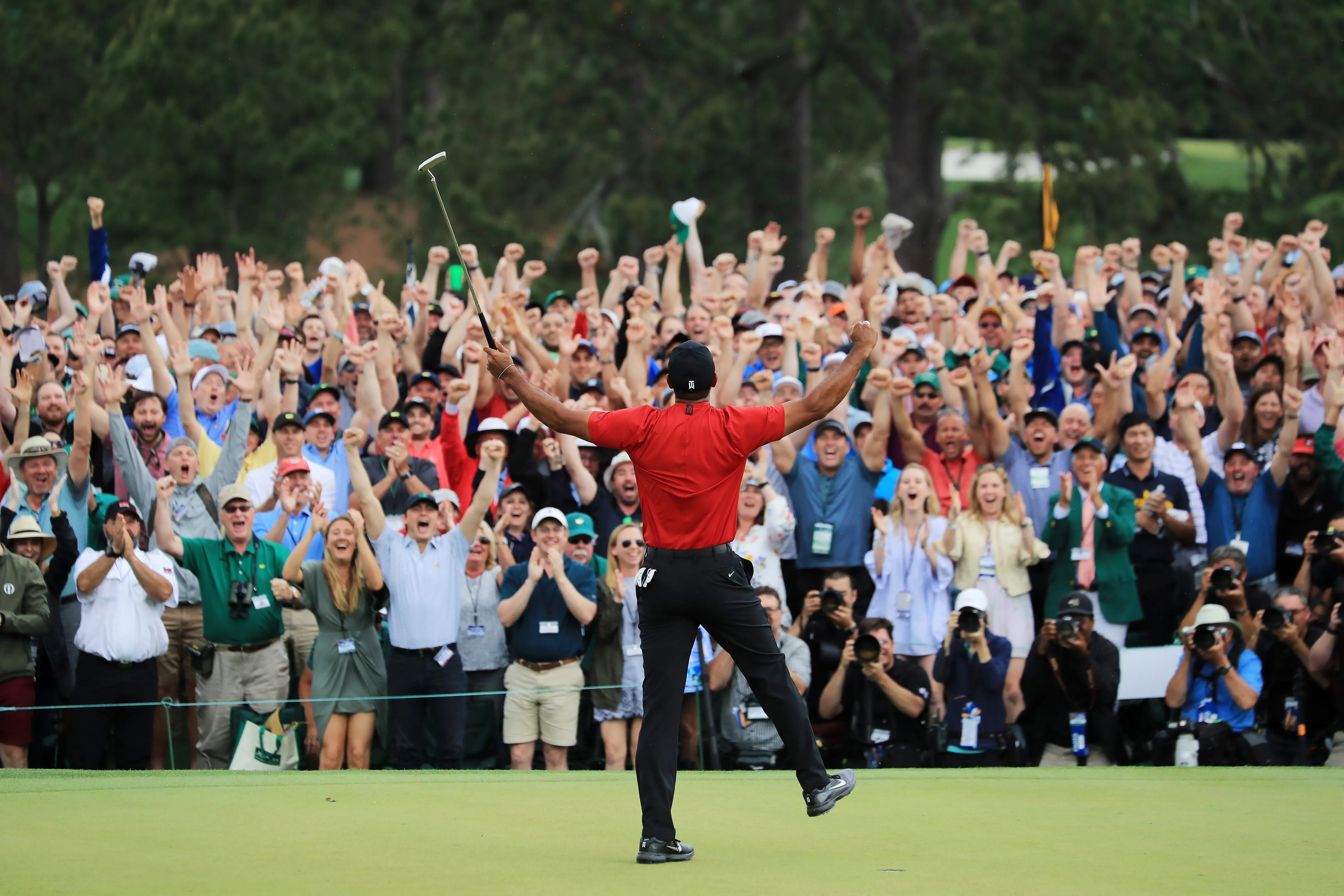 tiger woods score today at the memorial tournament