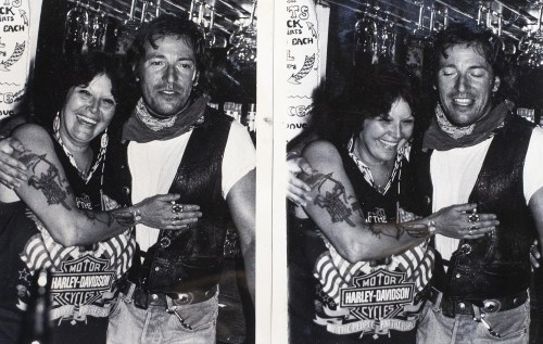 In the weeks and months after the impromptu jam session, Phillips' name was mentioned in nearly all the articles, along with a photo of her and The Boss posing behind the bar.