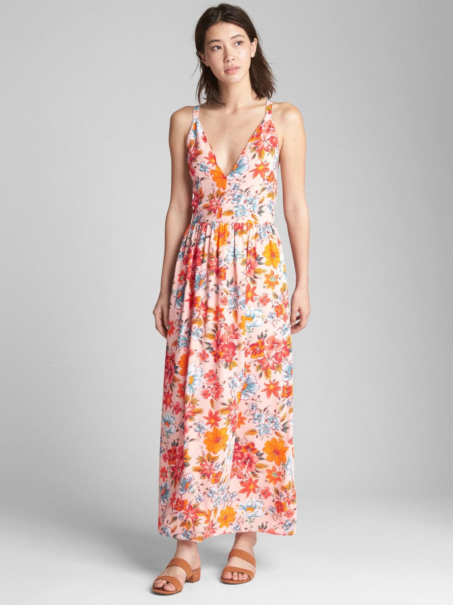 Splendid Floral Maxi Dress Floral Maxi Dress Gap V Neck Dress Shirts V Neck Dress Formal wedding dress V Neck Dress