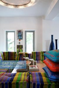 GAP Interiors - Modern moroccan style living room - Image ...