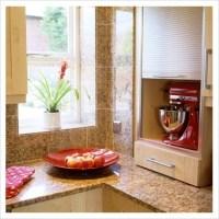 GAP Interiors - Roller shutter doors on kitchen cupboard ...
