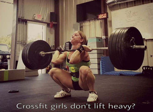 Crossfit girls don t lift heavy
