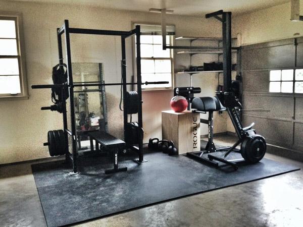 compact garage gym ideas - Garage Gym Inspirations & Ideas Gallery Pg 2