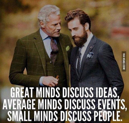 Great minds classy dignified meme