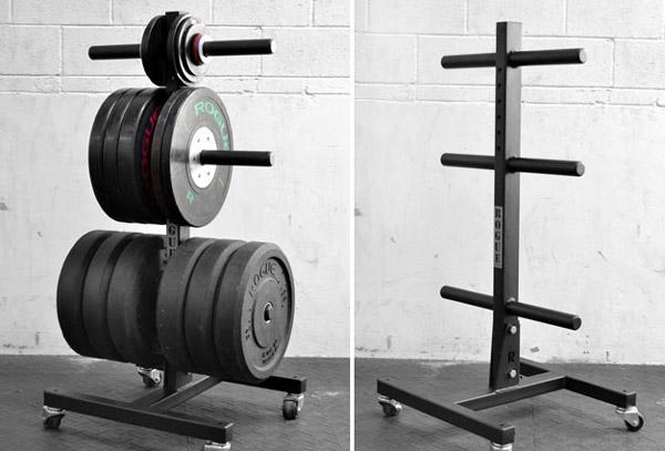 Garage gym organization maximizing the limited space