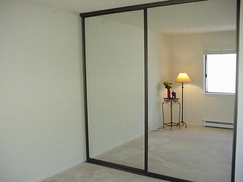 sliding closet door frame