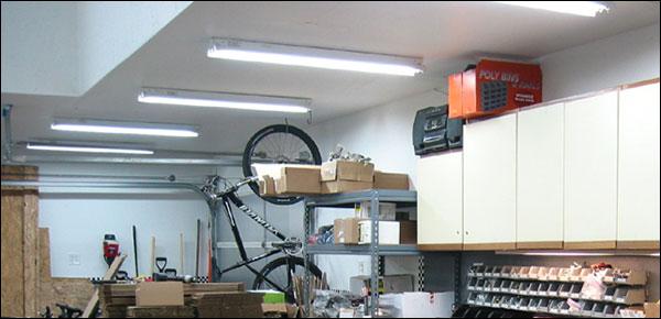 Dark Garage Gym? Brighten It Up With New Lighting