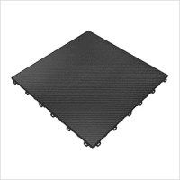 Swisstrax Carbon Fiber Vinyltrax Garage Floor Tile